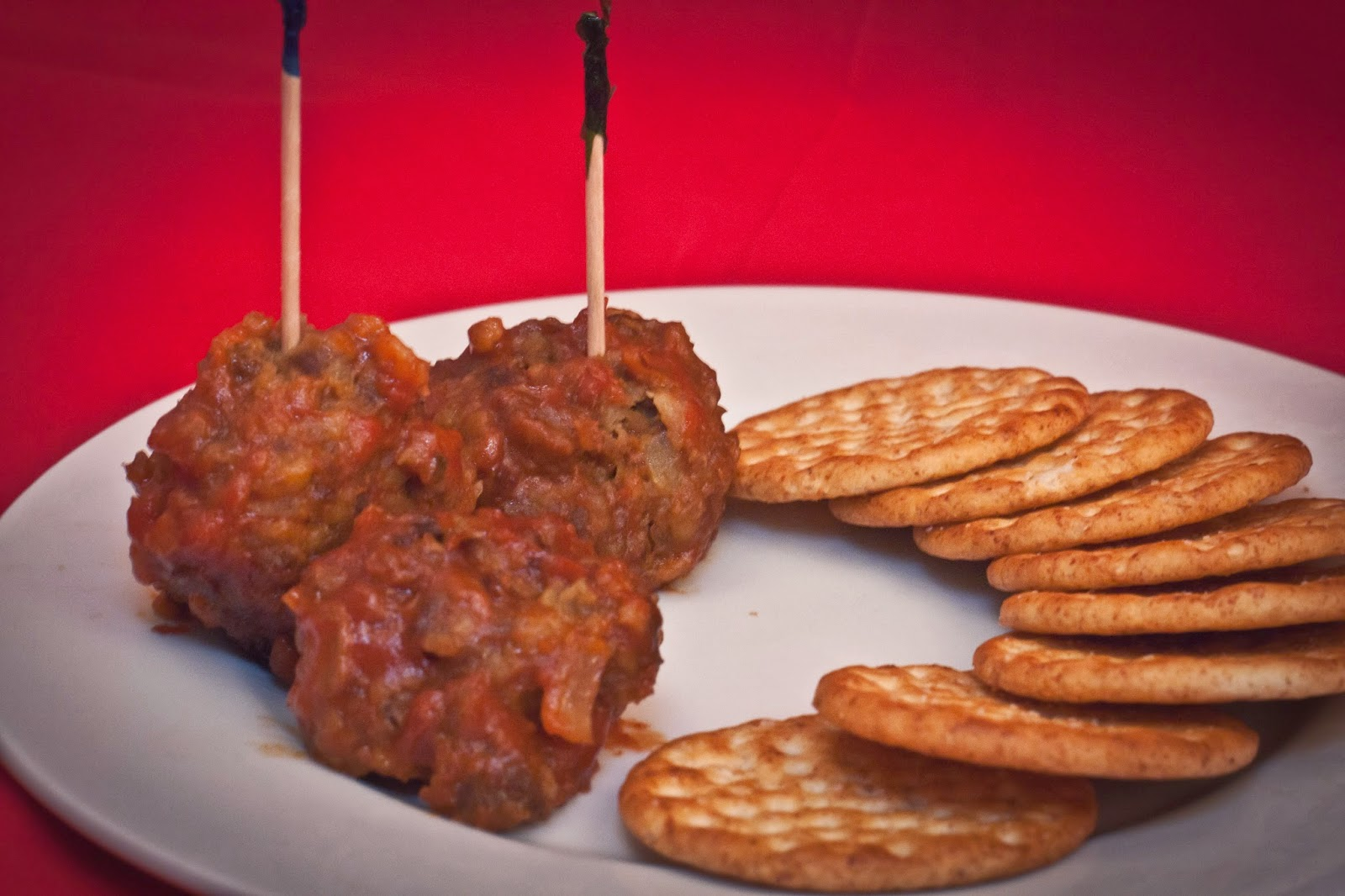 Cocktail Bison Meatballs