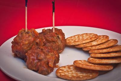 Cocktail Bison Meatballs
