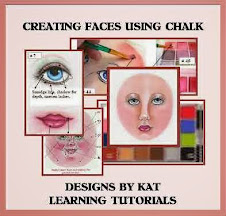 Creating Faces Using Chalk Workshop