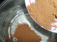 Tarta Ópera-añadiéndole el cacao