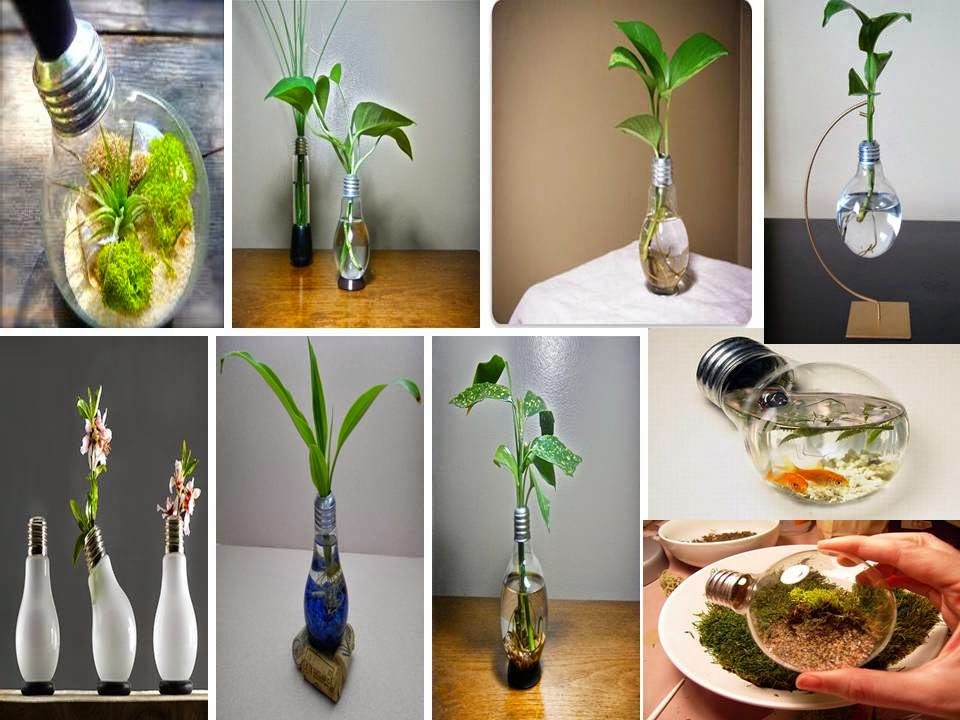 Home decor 40 waste material craft creative ideas with for Home decoration from waste