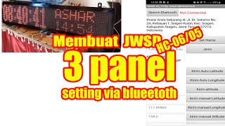 JWSD 3 panel Bluetooth