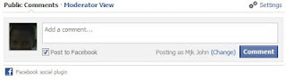 add new facebook comment to blogspot website