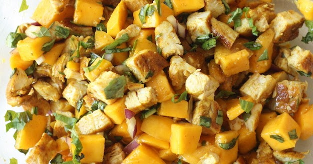 Curried Chicken Salad with Mango | Season with Spice