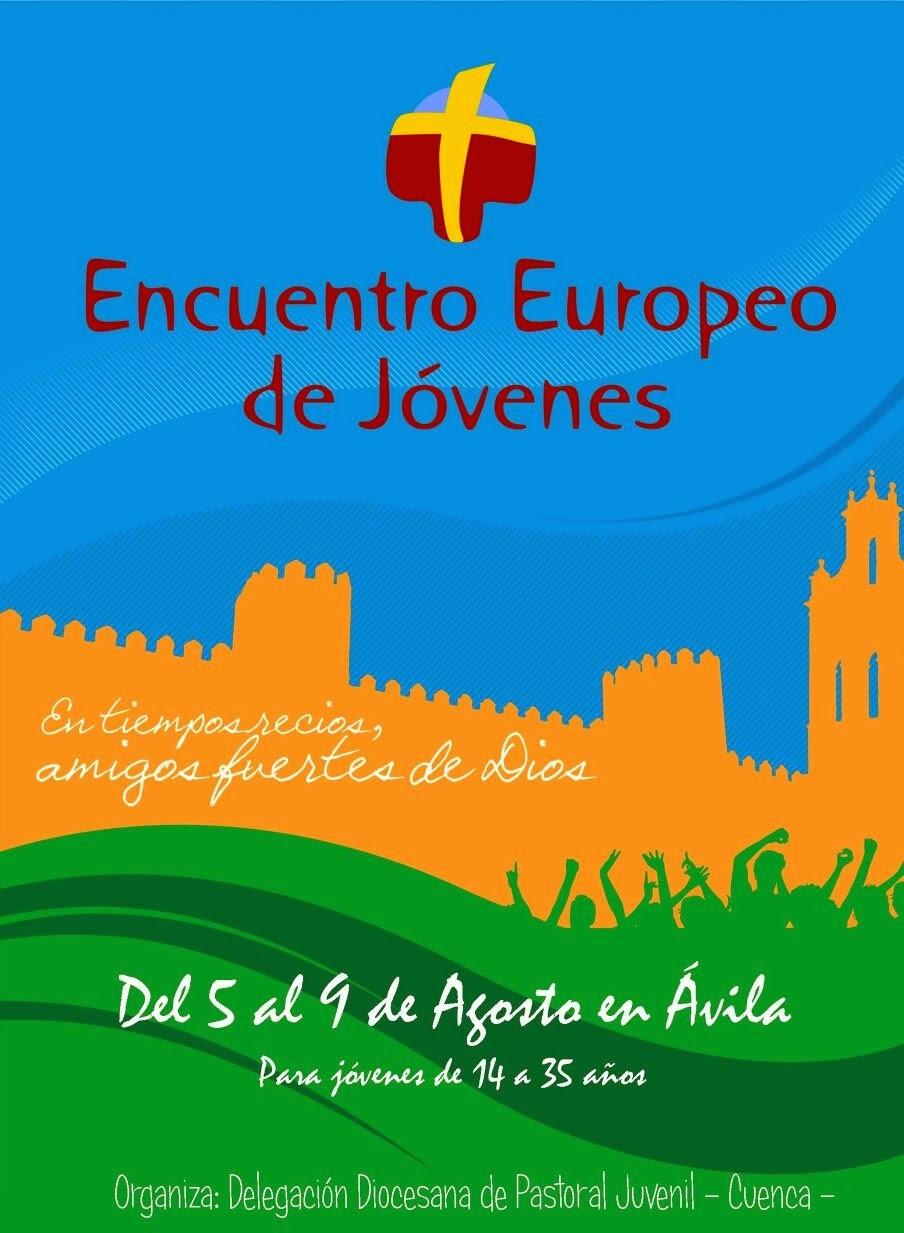 Apúntate al Encuentro Europeo de Jóvenes 2015.