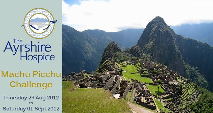 Ayrshire Hospice Machu Picchu Challenge