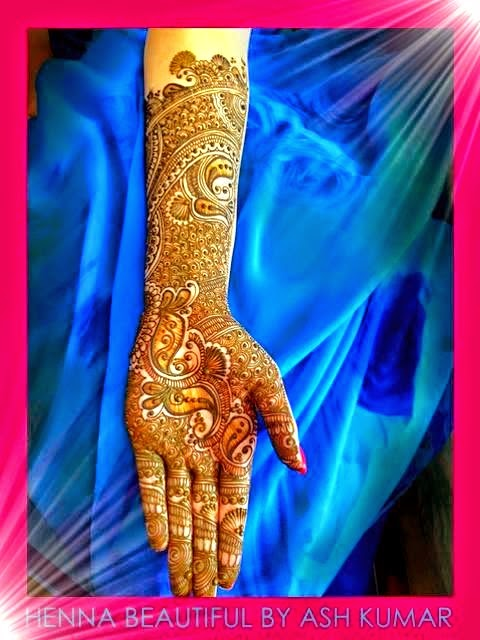 Celebrity Indian Mehndi Designs