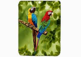 Jual Selimut Kendra Soft Panel Blanket Parrot