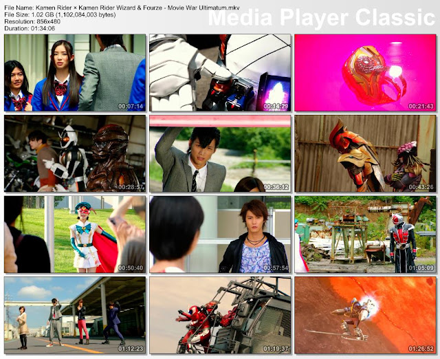 Kamen Rider × Kamen Rider Wizard & Fourze : Movie War Ultimatum [RAW]