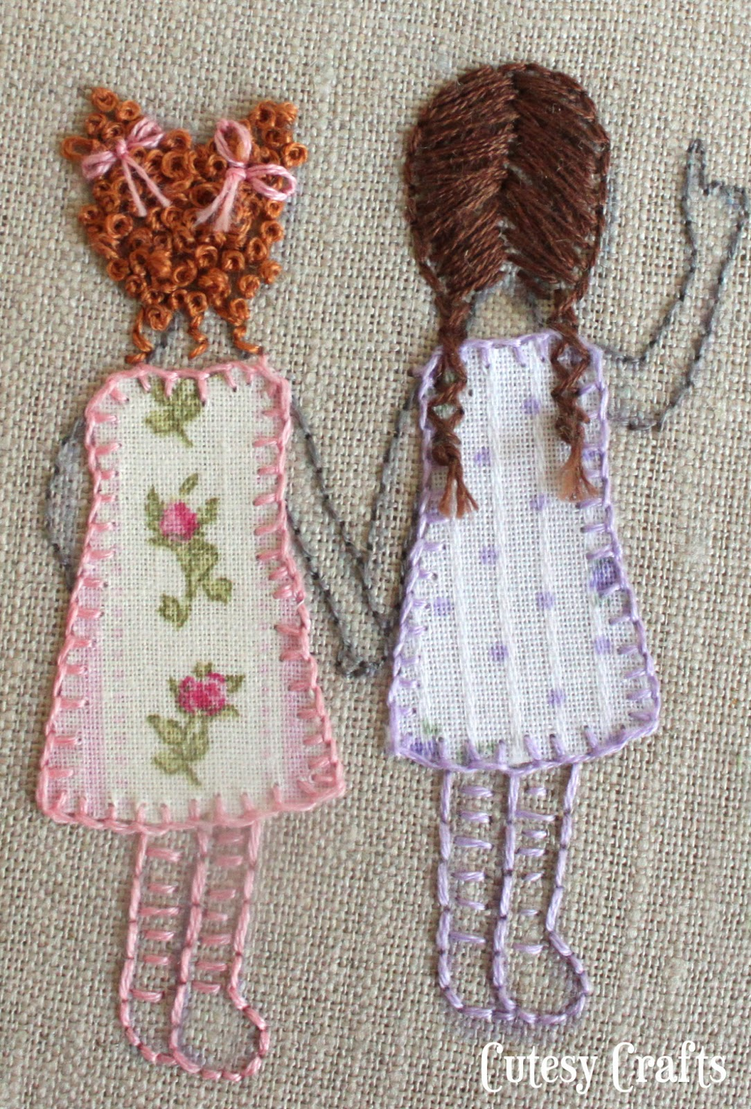 Embroidery hoop patterns cutesy crafts