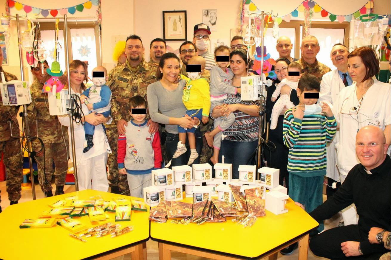 Esercito Italiano, solidarietà all'ospedale San Giovanni Rotondo