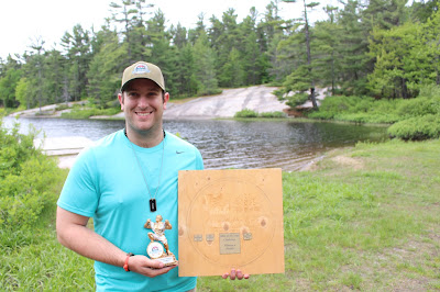Xtreme challenge and Without a Paddle award winner Sam
