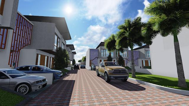 Gambar Cluster Elite Residence Pondokcabe