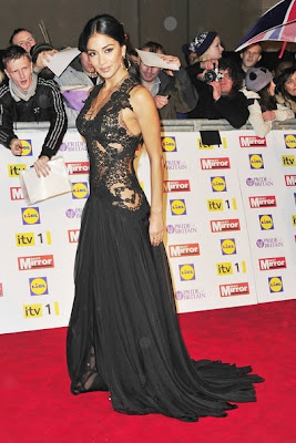 Nicole Scherzinger attends the Pride of Britain Awards Pussycat Dolls Sexy Pretty
