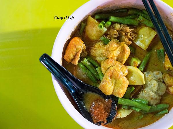 Midnight Curry Mee / Curry Lor Mee @ Pekan Cina, Alor Setar