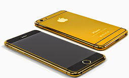 Golden iPhone 6 Plus