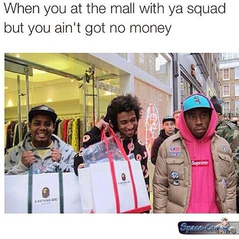 funny people mall picture