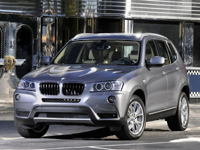 2011-BMW-X3-Front-Side-Jeep-Car