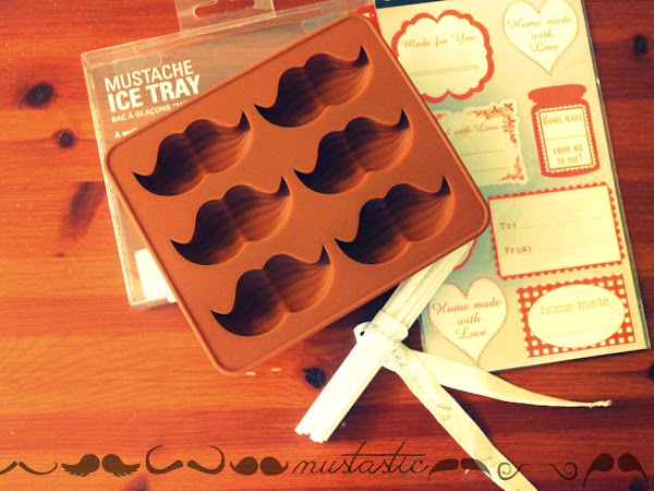 Show me your mustache - GIVE AWAY ♥