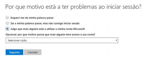 recuperar Hotmail/Messenger hackeado