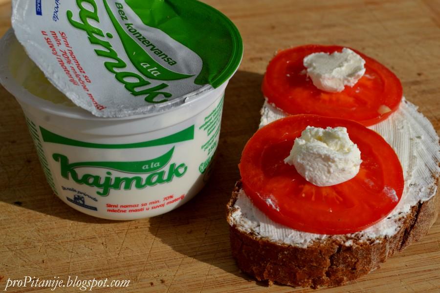 Бутерброд Каймак