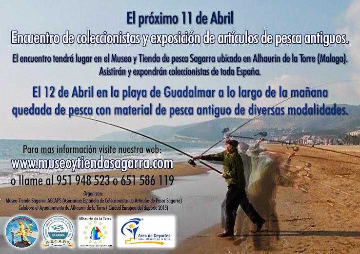 Encuentro coleccionistas artículos pesca 11-12 abril
