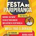 Veja o cartaz oficial da Festa de novembro em Paripiranga-BA