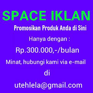• • • SPACE IKLAN BUAT ANDA