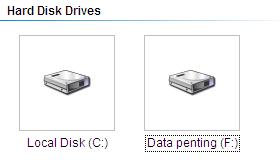 partisi baru terbuat Cara Membuat Partisi Baru di Windows XP Dengan Simple