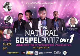 NATURAL PRAIZ TOUR1... 1 SEPT 2013