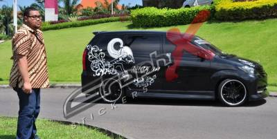 Cutting Sticker Avanza
