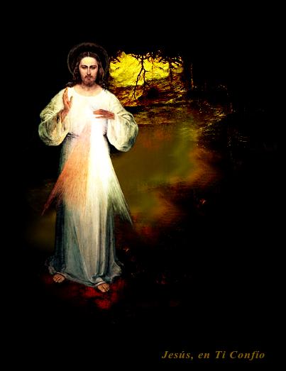 jesus entra en una cueva oscura para sacarnos
