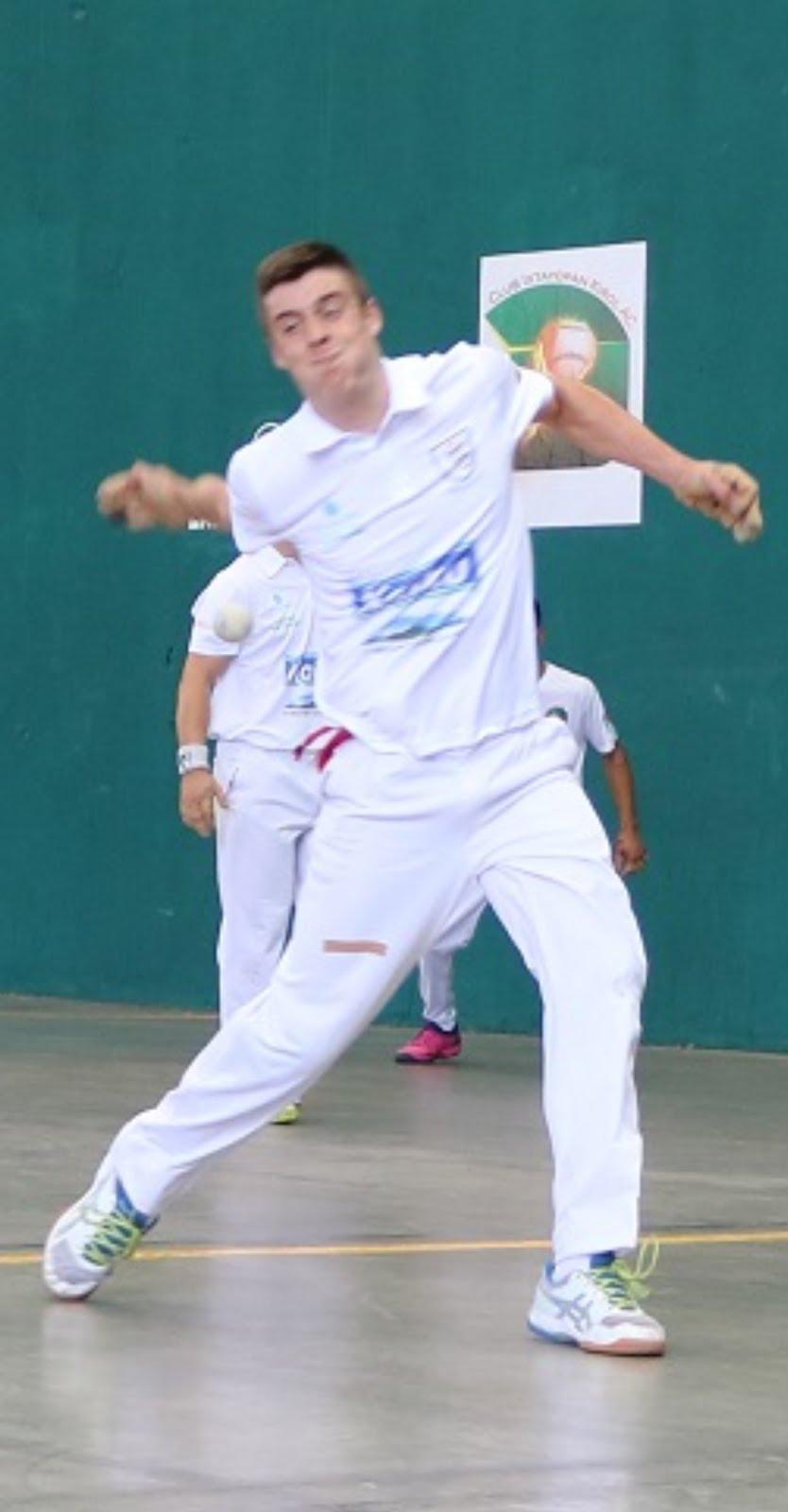 Regresó la pasión del frontón a mano en Ixtayopan con Torneo de la Amistad