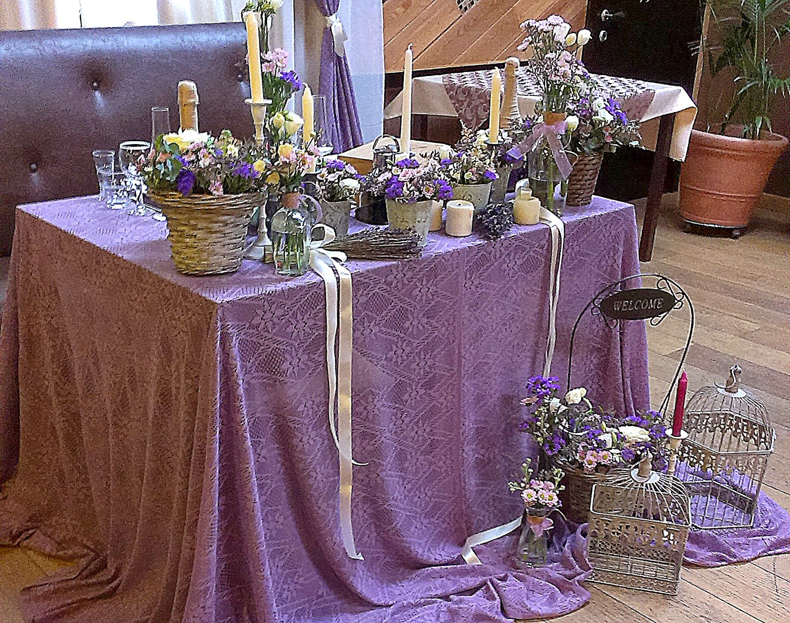 свадьба в ресторане рустико