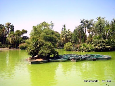 lago parque ciudadela barcelona