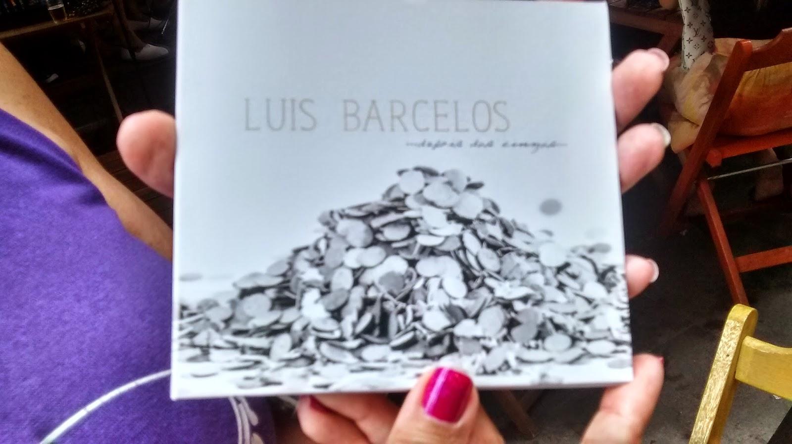 """Capa do CD """"Depois das Cinzas"""" - Luis Barcelos"""