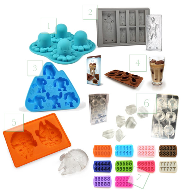 Practical holiday gifts adorable ice trays the lovely for Top 10 practical christmas gifts