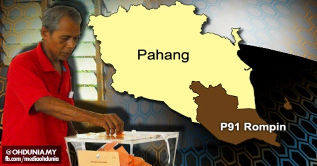 Seramai 545 pengundi awal tunai tanggungjawab PRK Parlimen Rompin