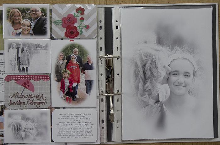 Becky Higgins, Project life, hand lettering, pocket scrap