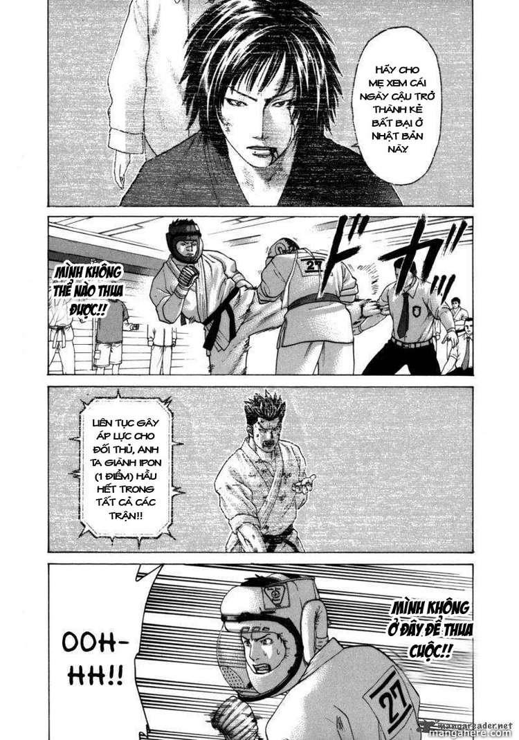 Karate Shoukoushi Kohinata Minoru chap 83 Trang 11