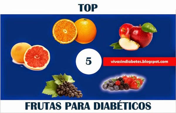 Las 5 Mejores Frutas para Diabéticos Tipo 2 ~ Viva sin
