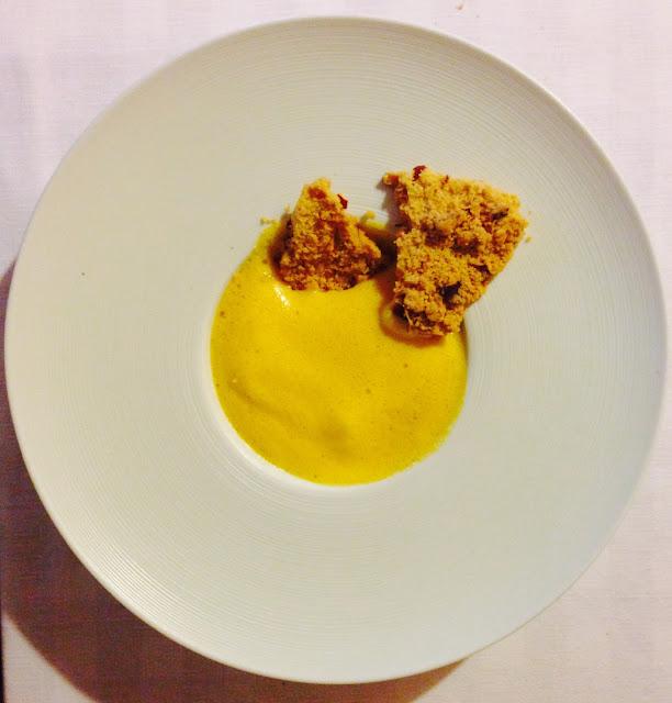 Foto del blog Foodpics Italy: zabaione con torta sbrisolona