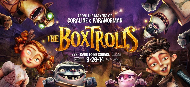 The Boxtrolls – 2 New Posters : Teaser Trailer