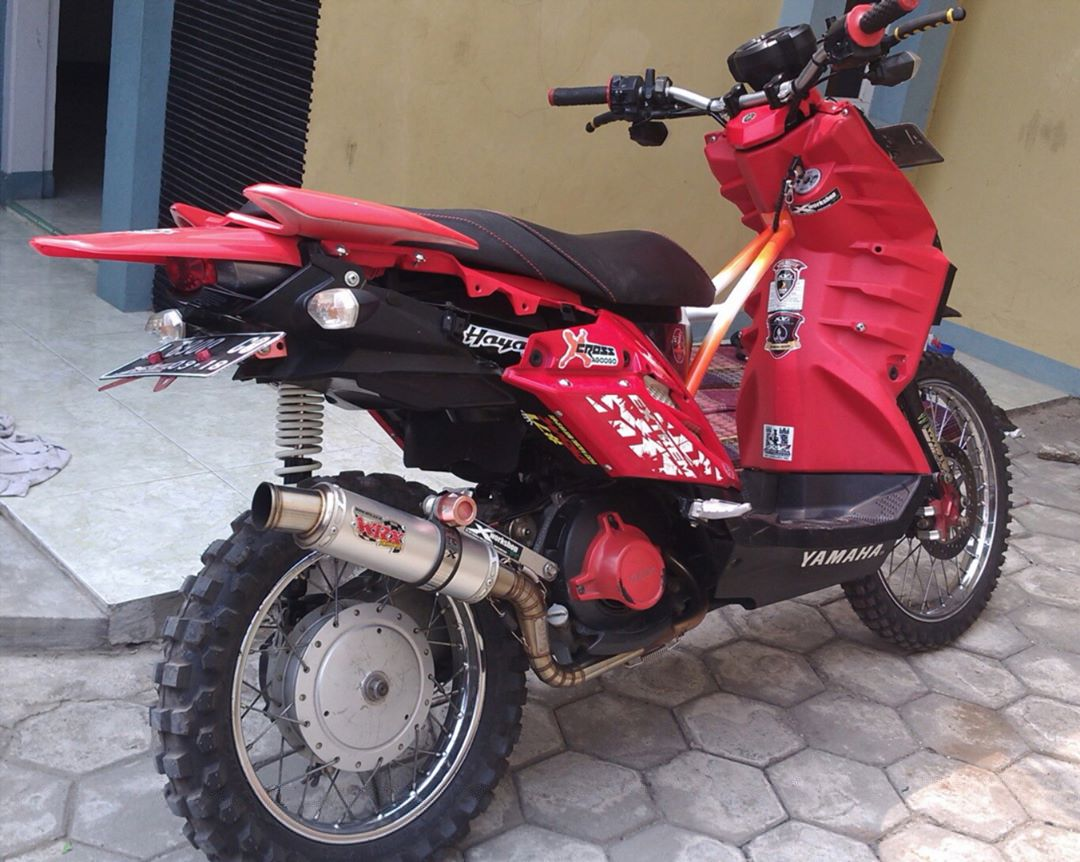 Yamaha X Ride Modif Trail
