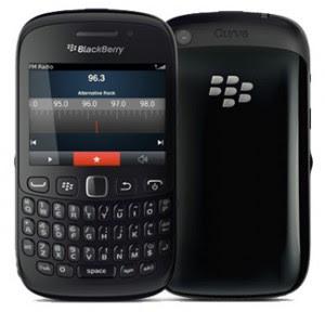 Harga dan Spesifikasi Blackberry Davis (BB Curve 9220)