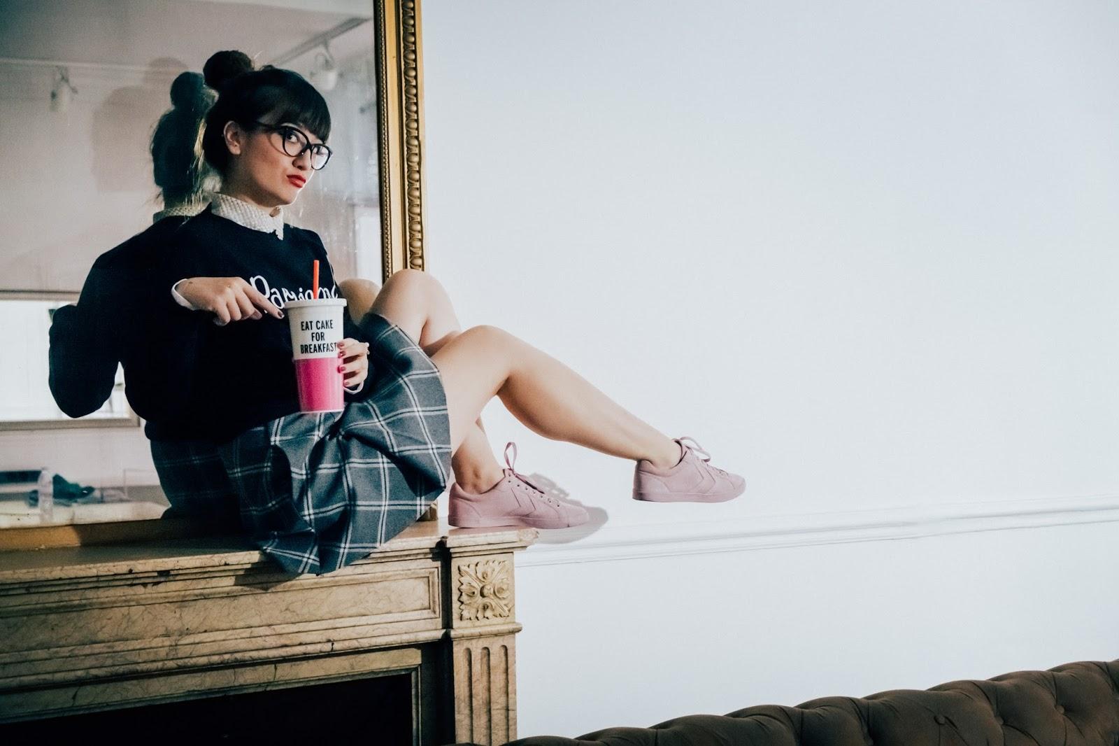 Blogger, Paris, Look, Parisian Style, Mode, Kitsune
