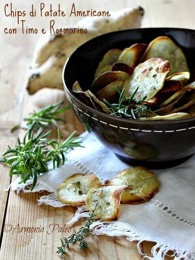 Chips di Patate Americane di Armonia Paleo