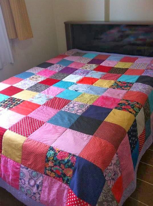 Stella hoff patchwork colcha de retalhos colorida - Colchas para sofas baratas ...