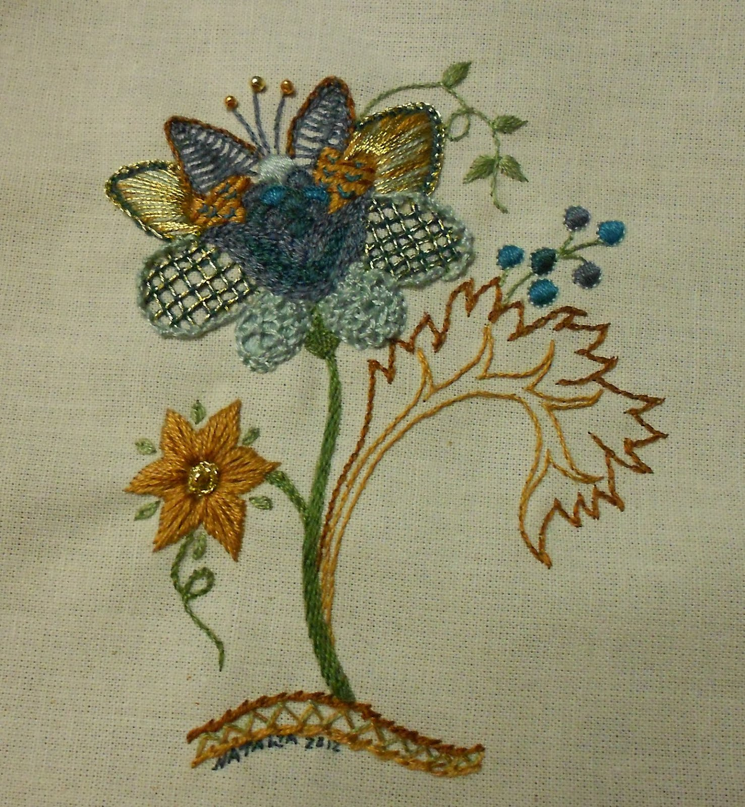 Jacobean Embroidery Designs Patterns