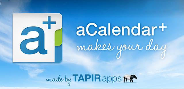 aCalendar+ Calendar & Tasks v1.6.2 Apk Miki